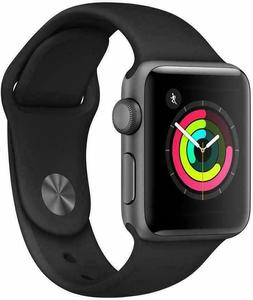Apple Watch Series 3  Space Gray Aluminium Case with Black S