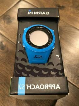 Garmin Approach S2 GPS Golf Watch Blue FREE Shipping