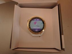 Garmin Approach S40 Golf GPS Watch  White/Gold