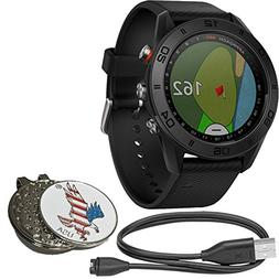 Garmin Bundle Approach S60 Golf GPS Sports Smart Watch, Come