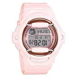 Casio Baby-G Face Protector Baby Pink Rose Tone Watch Digita