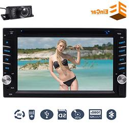 Backup Camera as gift - Double 2 Din Car Stereo In Dash 6.2