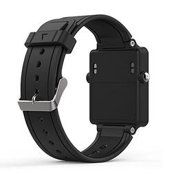 Band for Garmin Vivoactive, Soft Silicone Wristband Replacem