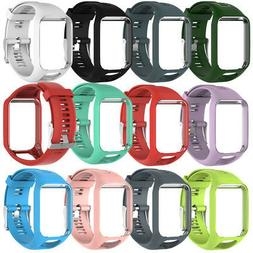 Fashion Soft Silicone Band Strap Replacement For TomTom Spar