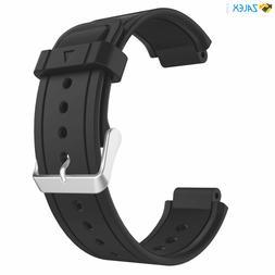 Black Garmin Vivoactive Watch Soft Silicone Replacement Fitn