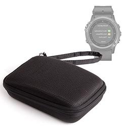 DURAGADGET Black Water-Resistant Hard Shell Case with Ultra-