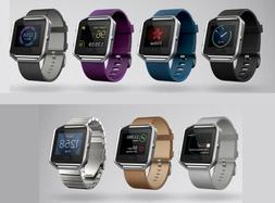 Fitbit Blaze FB502 Smart Fitness Watch Small Large Steel Plu