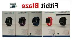 Fitbit Blaze FB502 Smart Fitness Watch Small Large Black Blu