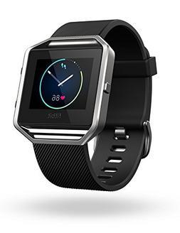 Fitbit Blaze Smart Fitness Watch Black Silver Small