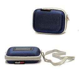 Navitech Blue Hard Protective Watch / Wristband Case for Nik