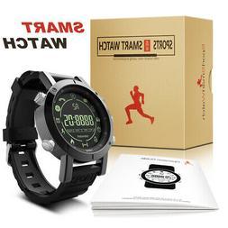 Bluetooth Smart Watch GPS Waterproof Sport Fitness Wrist Wat