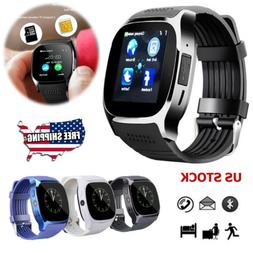 Bluetooth Smart Watch Sport Watchband GSM Unlocked Watch For