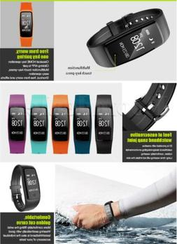 Bluetooth Wristband Fitness Sports Watch Heart Rate Monitor