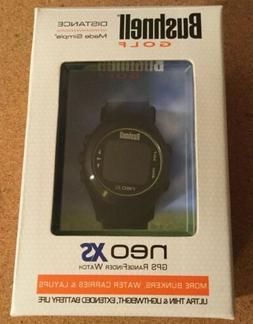 Brand New Bushnell Neo XS GPS Rangefinder Watch Black Ultra