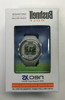 Brand New Bushnell Neo XS GPS Rangefinder Watch White Ultra