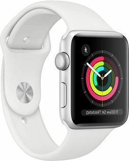 BRAND NEW Apple Watch Series 3 GPS 42mm Silver Aluminum Case
