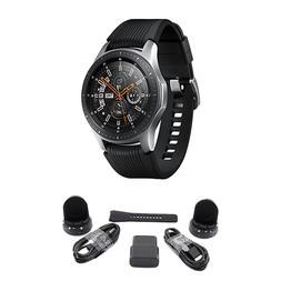 bundle galaxy bluetooth watch 46mm silver sm