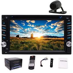 EinCar Car Audio Double Din 2DIN 6.2 Touchscreen DVD Stereo