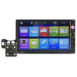 HYXT Car MP5 Player Intelligent 7 Inch HD Touch Screen Easy