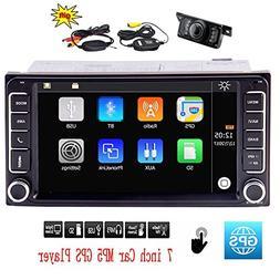EinCar Car Radio Capacitive Touch Screen 7 inch Double Din C