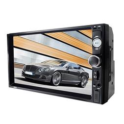 Car Stereo Player MP5 with 7.0 Inch Display Dual-spray Blue-