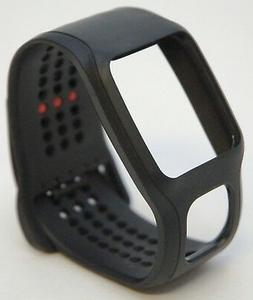 TomTom Cardio Comfort Strap Black/Black, One Size