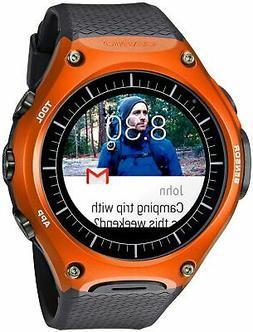 Casio 'Smartwatch' Quartz Resin Sport Watch, Color:Black