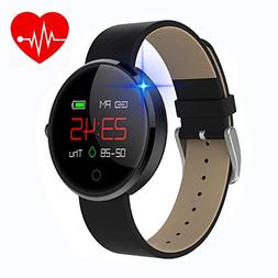 kingkok Colorful OLED Screen Dynamic Heart Rate and Blood Pr