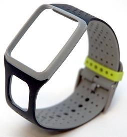 TomTom Comfort Strap Slim BLACK/GREY Runner Multi-Sport GPS