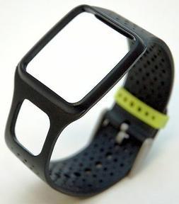 NEW TomTom Comfort Strap Slim BLACK Runner Multi-Sport cardi