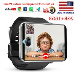 DM100 4G Smart Watch WiFi GPS BT Smartwatch Android 16GB Pho