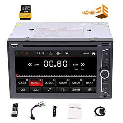 Double Din Car Stereo, Eincar 6.2 Inch Capacitive Touch Scre