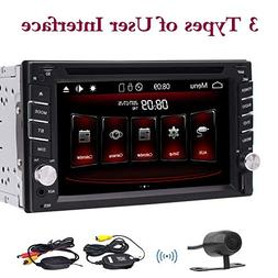 EinCar Double Din In Dash Stereo Car Receiver Audio Video Pl