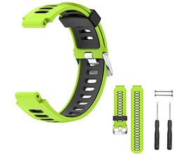 double silicone wristband strap