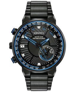 Citizen Eco-Drive Men's Satellite WaveWorld Time GPS Black-T