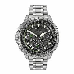 Citizen Eco-Drive Men's Satellite Wave Stainless Steel Brace