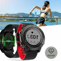 F5 GPS Running Watch Smartwatch Fitness Tracker Walking Hear