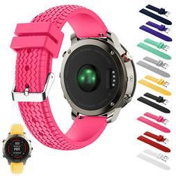 Fashion Replacement Silicone Soft Band Strap For Garmin Feni