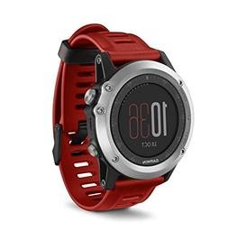 Garmin Fenix 3 GPS Watch Red