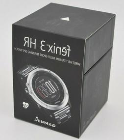 fenix 3 hr wrist titanium multi sport