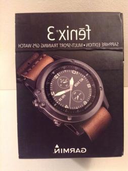 Garmin Fenix 3 Sapphire Edition Multi-Sport Training GPS Wat