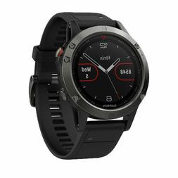 Garmin Fenix 5 Slate Gray with Black Band GPS Multisport Wat