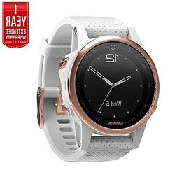 Garmin Fenix 5S 42mm Multisport GPS Watch - Rose Goldtone Sa