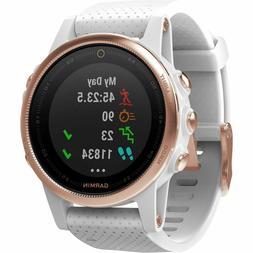 Garmin Fenix 5S Plus Sapphire GPS Watch,