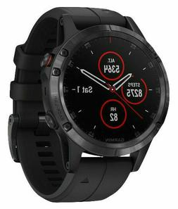 Garmin fēnix 5S Plus with 47 mm Case and Black Band GPS Mul