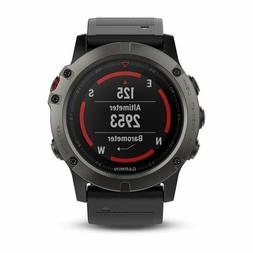 Garmin Fenix 5X Fitness GPS Watch 100K US TOPO Mapping Prelo