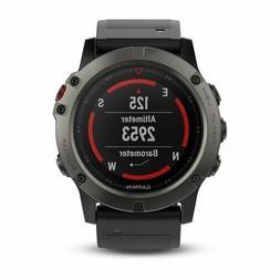 Garmin Fenix 5X Fitness GPS Watch 100K US TOPO Mapping Prelo