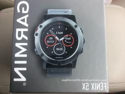 Garmin Fenix 5X Sapphire Multisport GPS Watch 51mm 010-01733