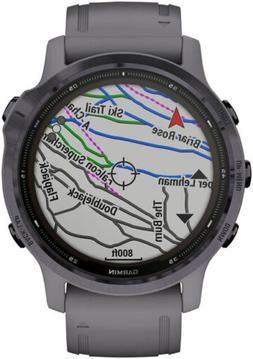 Garmin Fenix 6S Pro Solar GPS Watch - Women of Adventure, Am