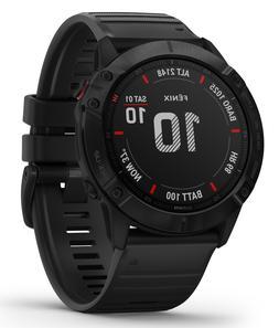 fenix 6x gps multisport watch pro black